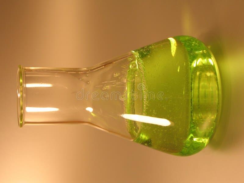 Garrafa Cónica Verde II Foto de Stock