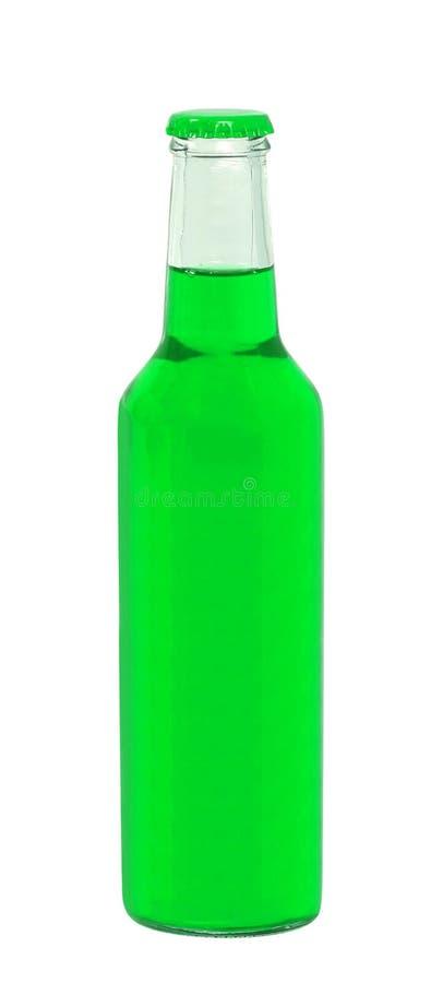 Garrafa com bebida saboroso fotos de stock royalty free