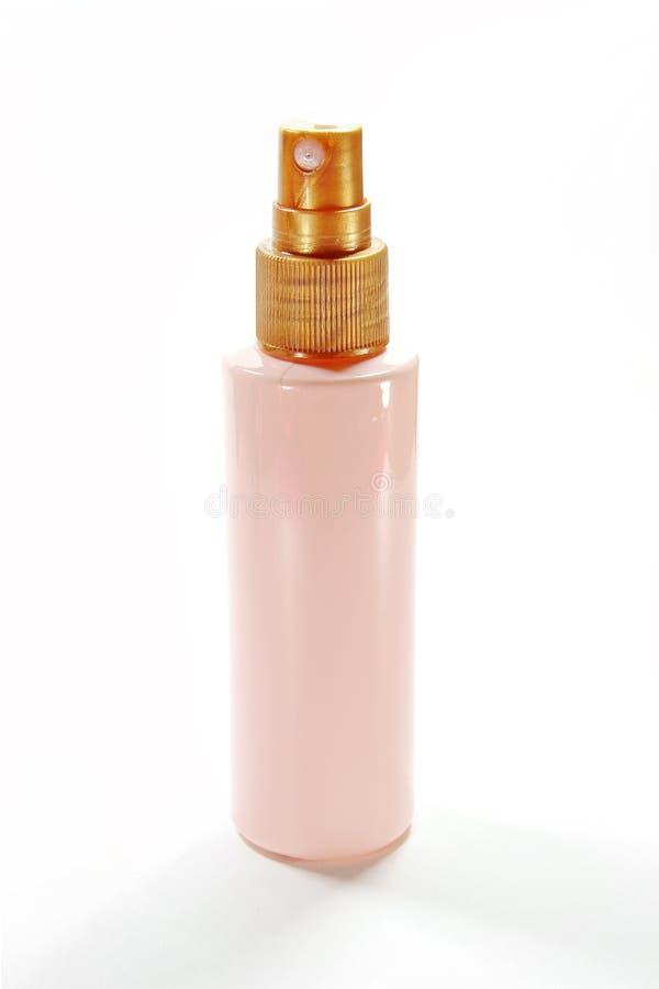 Garrafa cor-de-rosa do pulverizador imagem de stock