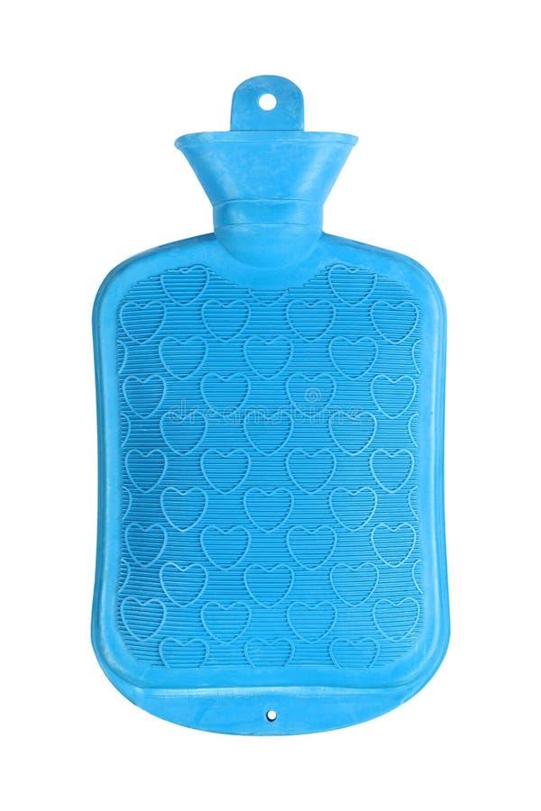 Garrafa de água ou saco quente no branco imagens de stock royalty free