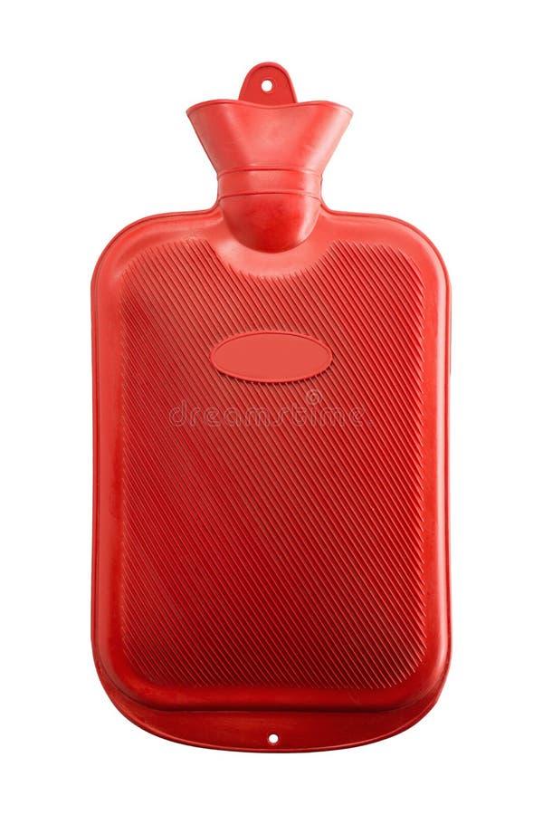 Garrafa de água quente foto de stock