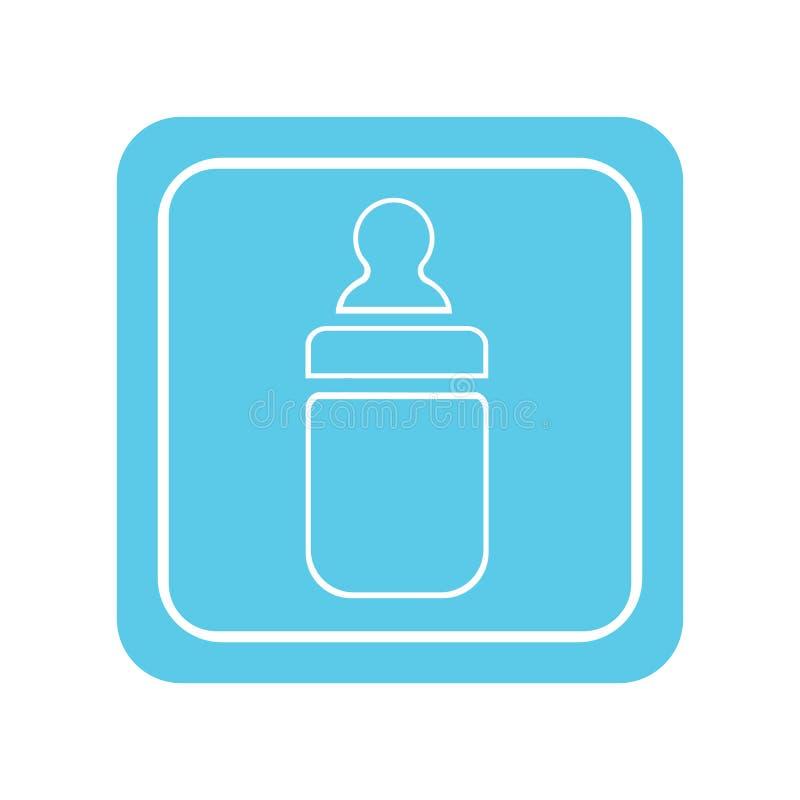 Garrafa de beb? ilustração royalty free