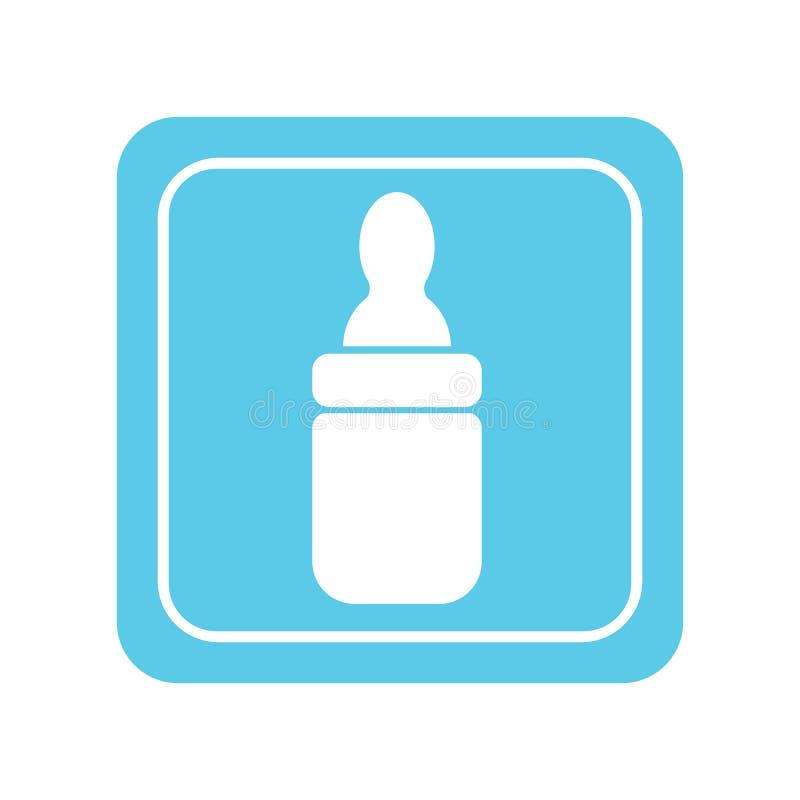 Garrafa de beb? ilustração stock