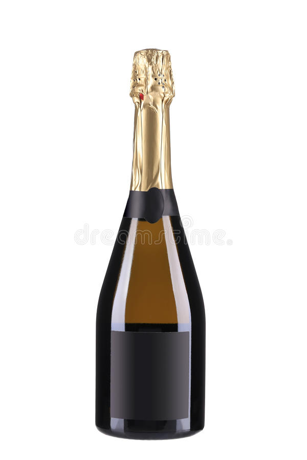 Garrafa de Champagne foto de stock royalty free
