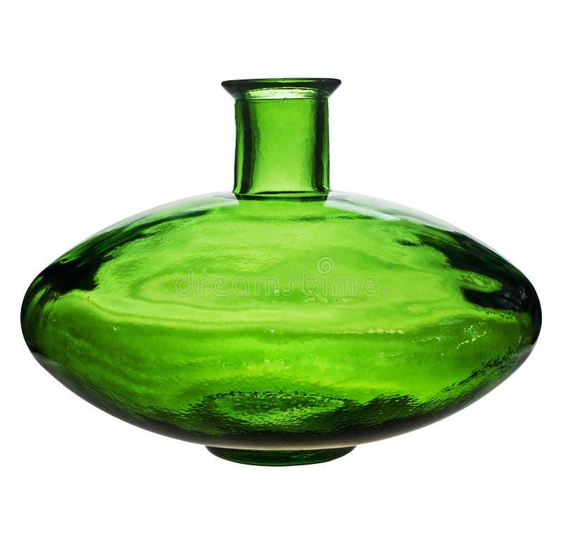 Garrafa de vidro vazia do vintage. imagens de stock royalty free