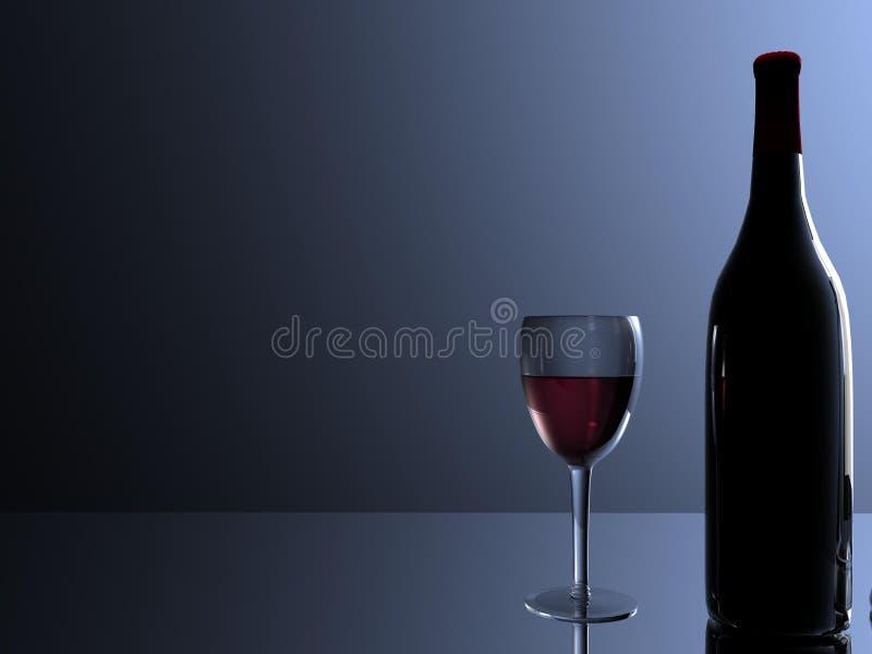 Garrafa de vinho imagens de stock