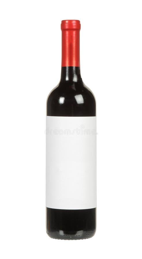 Garrafa de vinho tinto fotografia de stock royalty free