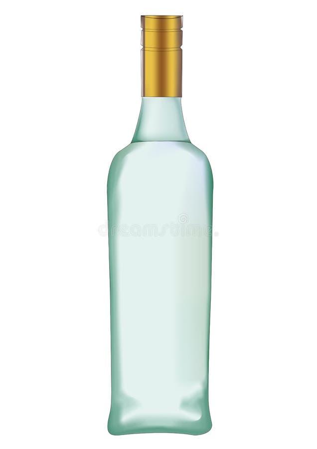 Garrafa de vinho três imagens de stock