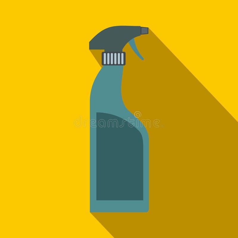 Garrafa do pulverizador lisa ilustração do vetor