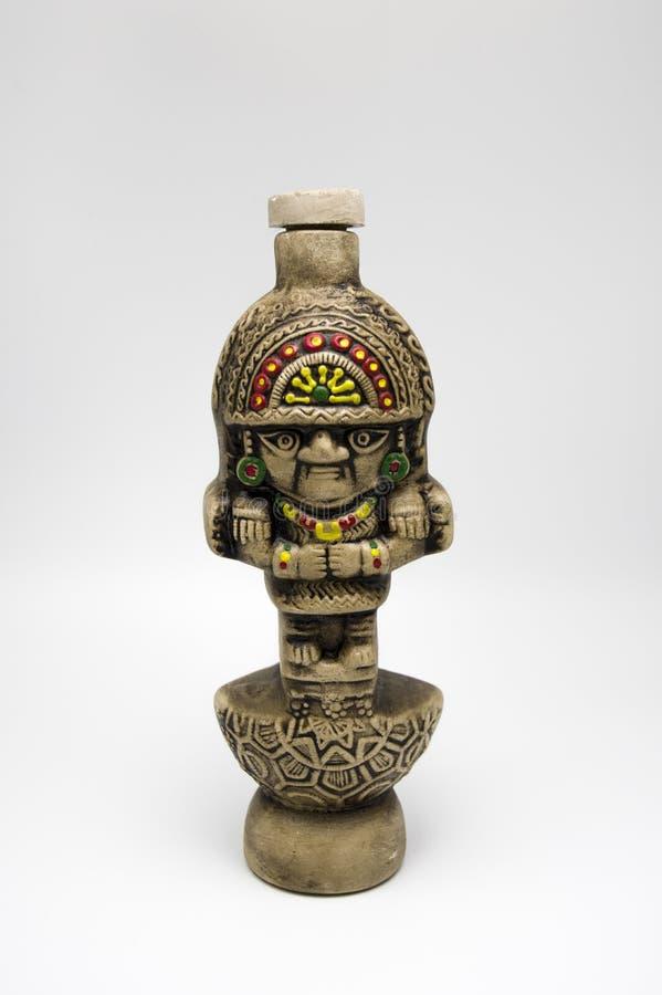 Garrafa do statuete de Pisca do Peru foto de stock royalty free