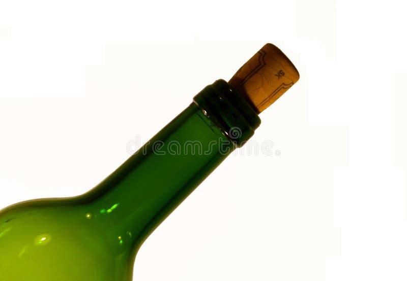 Garrafa do vinho foto de stock royalty free