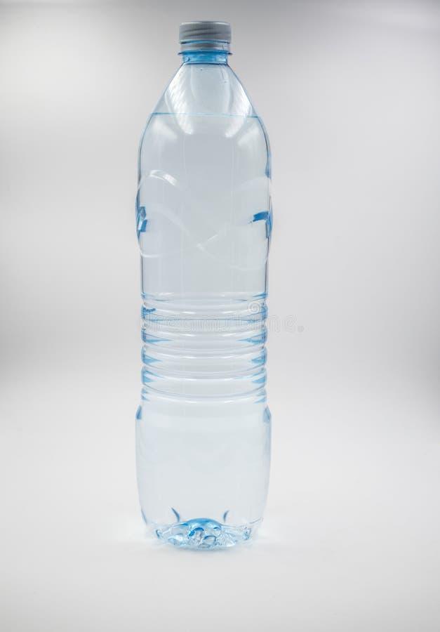 Garrafa plástica da água, close up imagens de stock royalty free