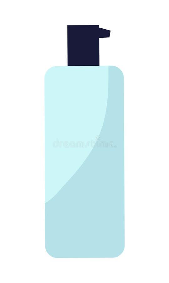 Garrafa plástica do creme ilustração do vetor