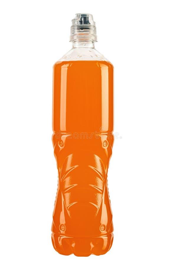 Garrafa pl?stica da bebida foto de stock royalty free