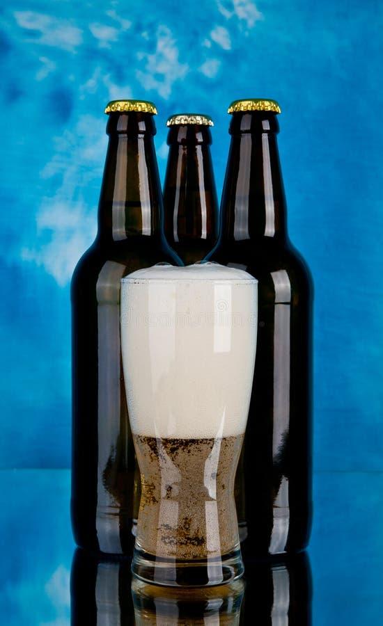 Garrafas da cerveja imagens de stock royalty free
