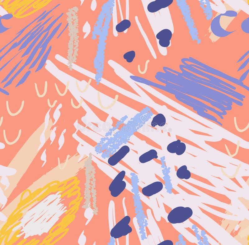 Garranchos coloridos com pontos ilustração do vetor