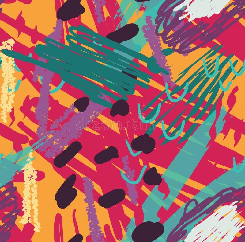 Garranchos coloridos com pontos ilustração royalty free