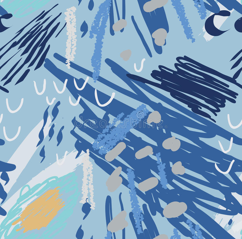 Garranchos coloridos com pontos ilustração stock