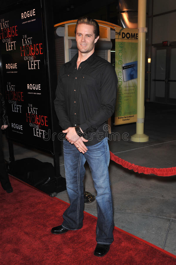 Garret Dillahunt. At the world premiere of his new movie The Last House on the Left at the Arclight Theatre, Hollywood. March 10, 2009 Los Angeles, CA Picture stock photos