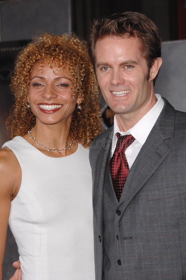 Garret Dillahunt. & wife at the Los Angeles premiere of No Country for Old Men at the El Capitan Theatre, Hollywood, CA. November 5, 2007 Los Angeles, CA royalty free stock photos