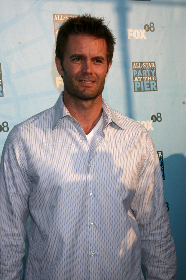 Garret Dillahunt. Arriving at the Fox TV TCA Summer 08 Party at the Santa Monica Pier in Santa Monica, CA on July 14, 2008 royalty free stock images