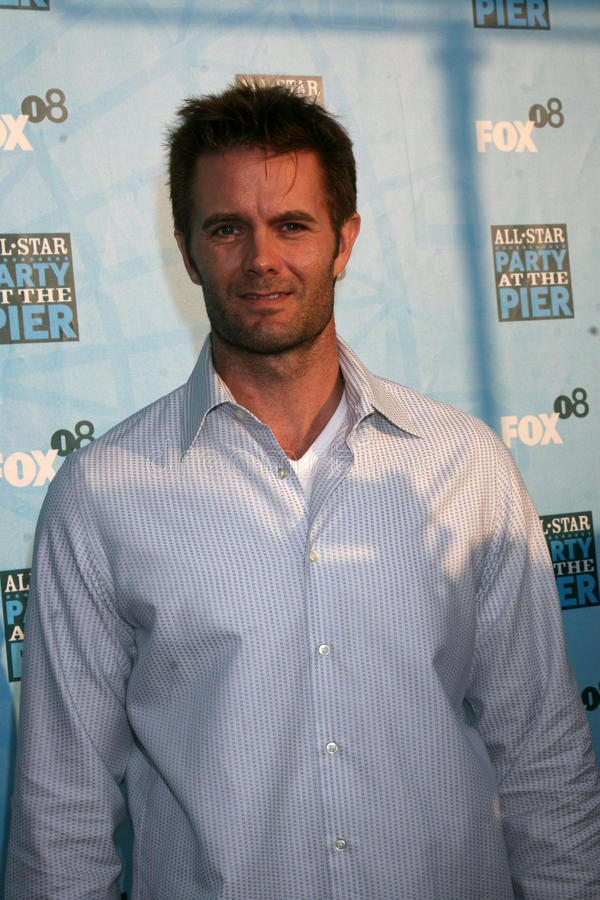 Garret Dillahunt. Arriving at the Fox TV TCA Summer 08 Party at the Santa Monica Pier in Santa Monica, CA on July 14, 2008 stock image