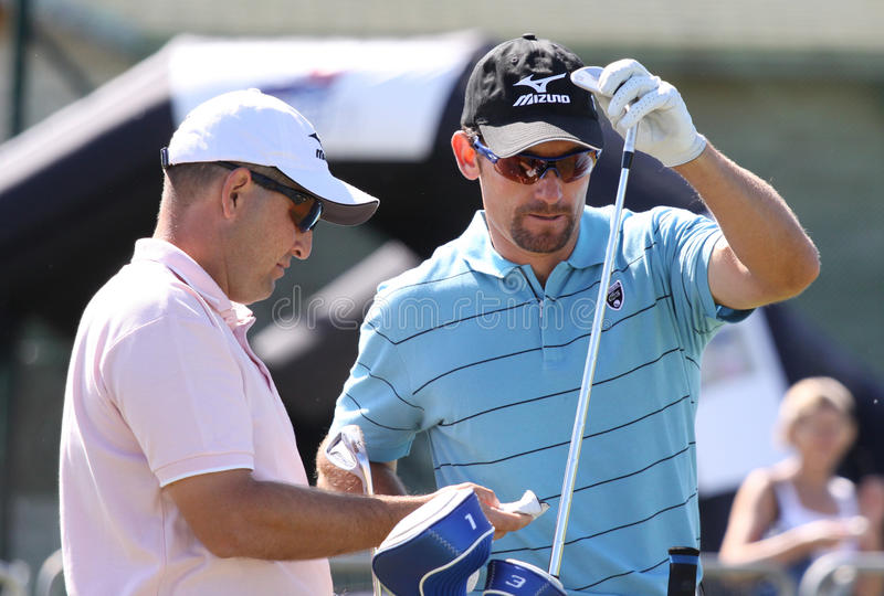 garrido 2010 francuskich golfów Ignacio otwarty fotografia royalty free