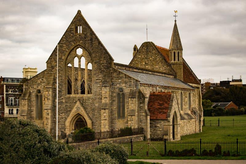 Garrison Church - Portsmouth reali, Regno Unito fotografia stock