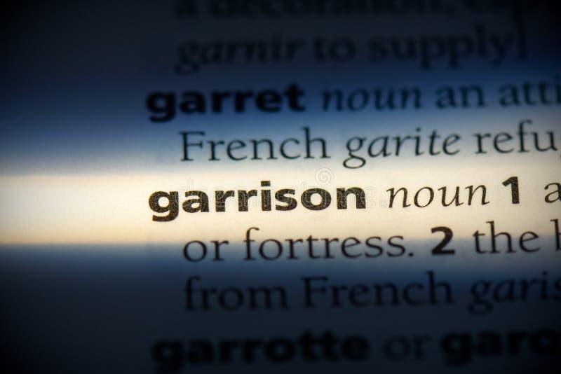 Garrison fotografie stock