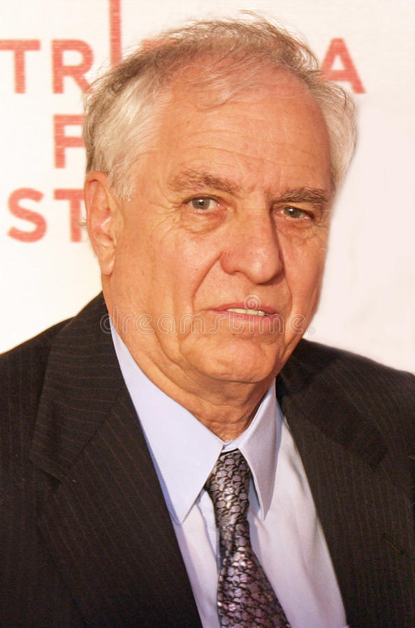 Garry Marshall. Poses on the red carpet for the New York premiere of Raising Helen, a film he directed. The ecvent took place at the Borough of Manhattan royalty free stock images