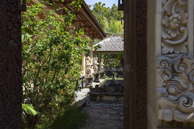 Garten Bali lizenzfreies stockfoto