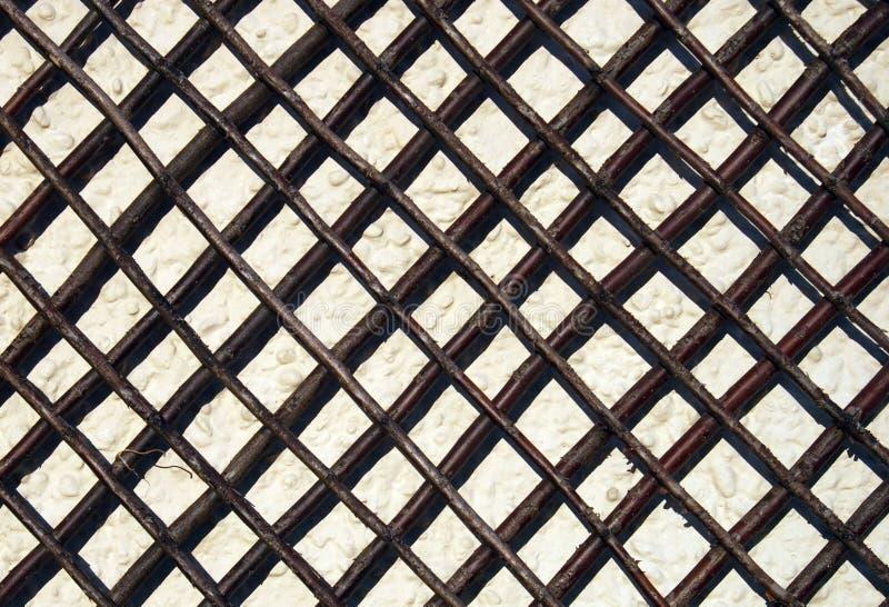 garten gitter auf wand stockfoto bild von muster steuerkn ppel 9677568. Black Bedroom Furniture Sets. Home Design Ideas