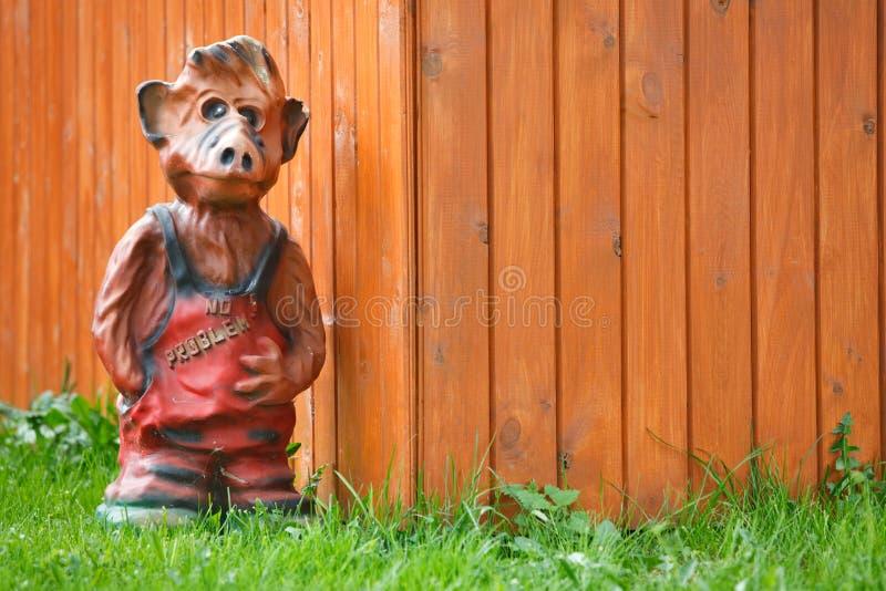 Garten Gnome stockbild