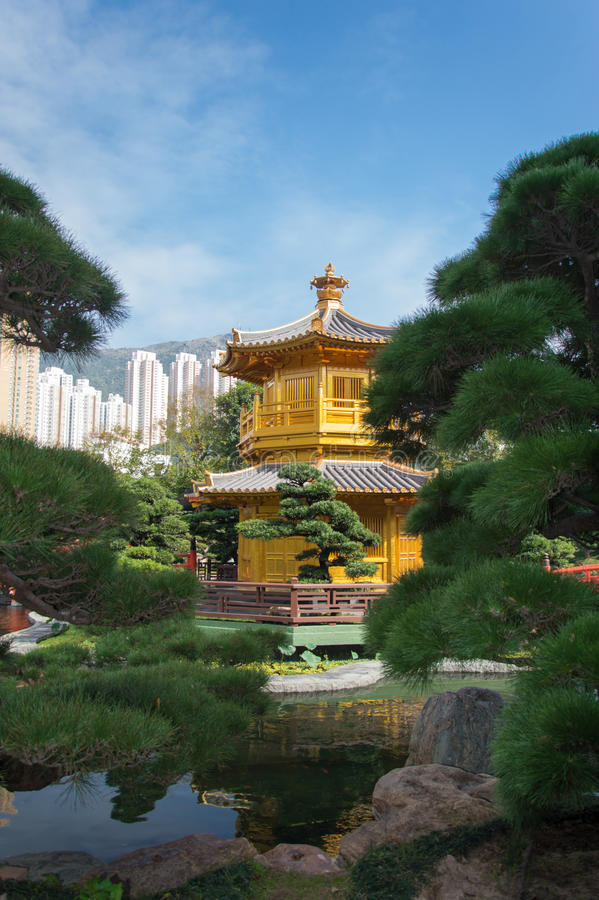 Garten Nan-Lian lizenzfreie stockfotos