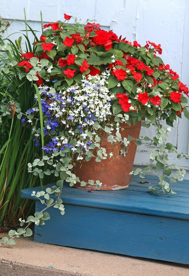Garten-Pflanzer lizenzfreie stockfotos