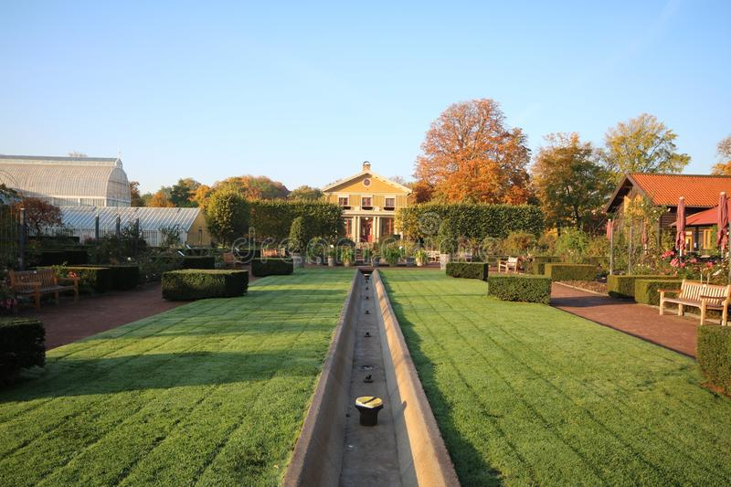 Garten Schweden botanische Gärten Goteborg Schweden stockfoto