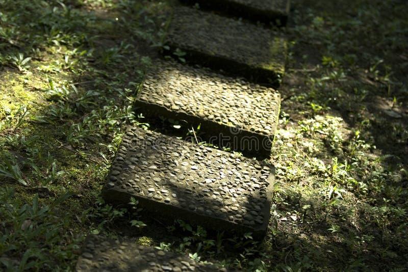 Garten-Steine Stockbilder