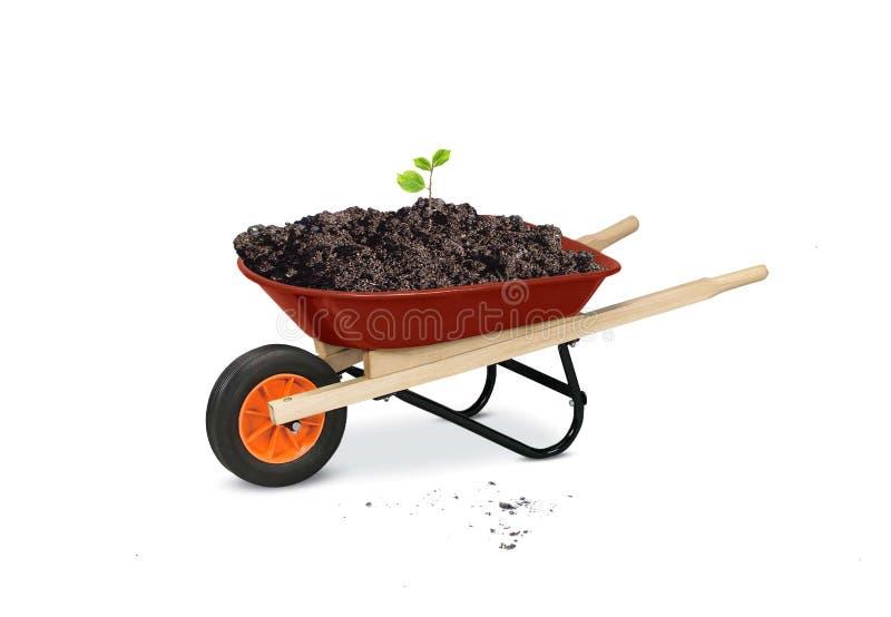 Gartenarbeithilfsmittel stockfoto