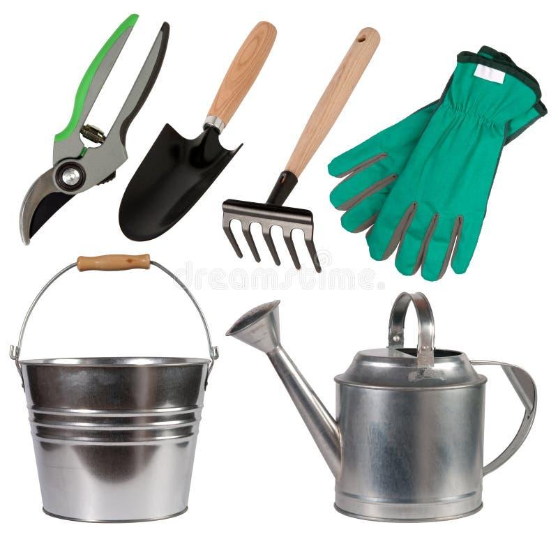 Gartenarbeithilfsmittel stockfotos