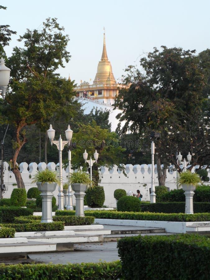 Gartenparkfotos in Bangkok, Thailand dort sind viele interessanten Platz Thailänder und -ausländischen Touristen Kommen Sie, p si lizenzfreie stockbilder