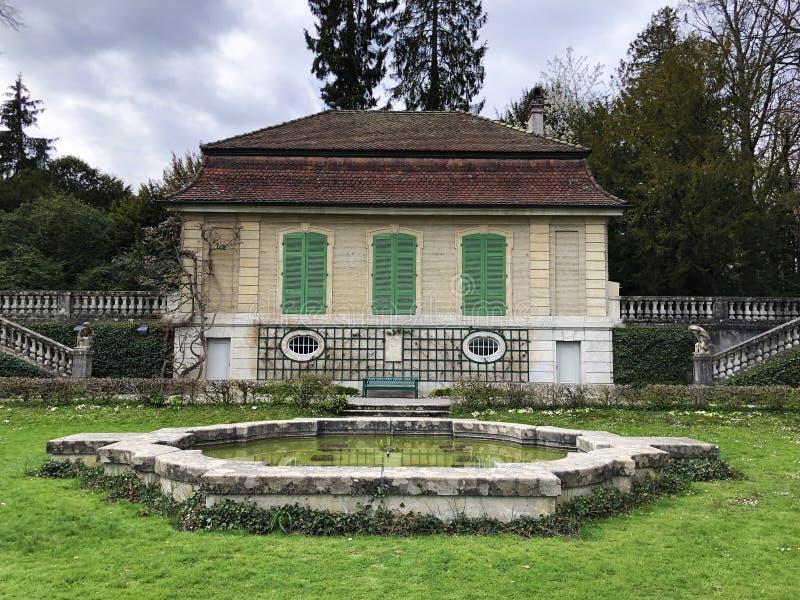 Gartensaal der Villa Boveri or Villa-Boveri Gartensaal, Baden royalty free stock image