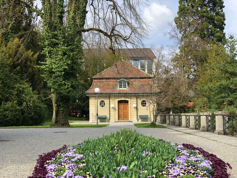 Gartensaal der Villa Boveri or Villa-Boveri Gartensaal, Baden royalty free stock photo