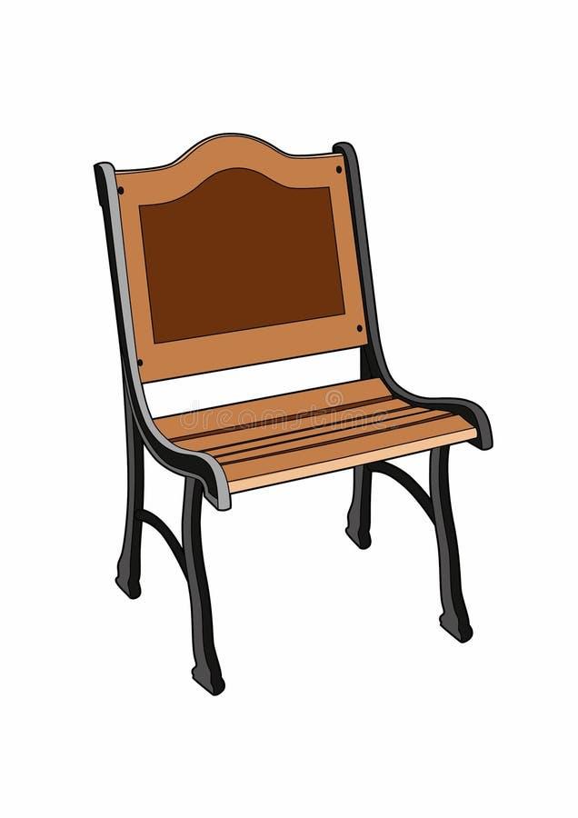 Download Gartensitz vektor abbildung. Illustration von lehnsessel - 96931803