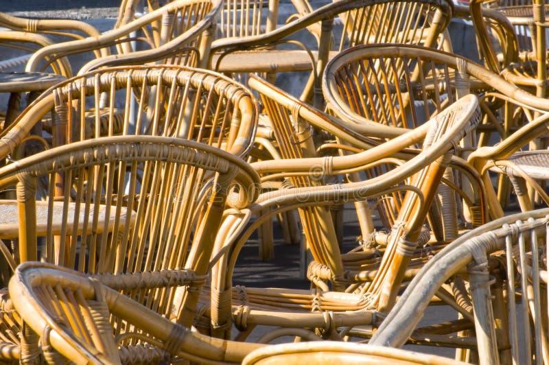 Gartenstühle stockfotografie