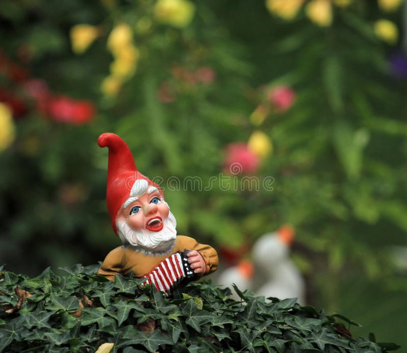 Gartenzwerg oder -Gnom stockbild