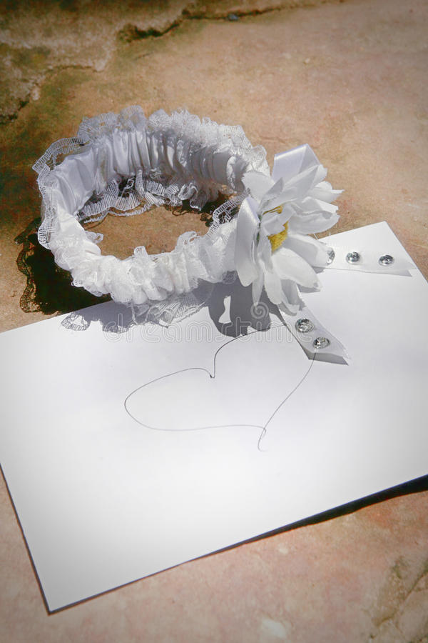 garter φακέλων στοκ φωτογραφίες