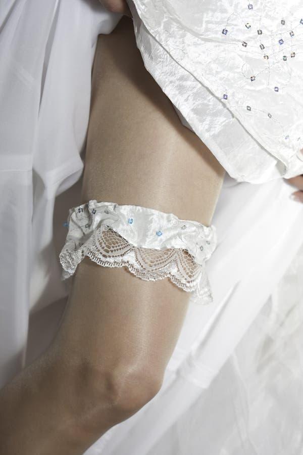 Download Garter leg stock image. Image of dressing, wedding, woman - 16057445