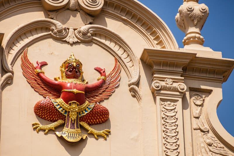 Garuda Effigy stock foto