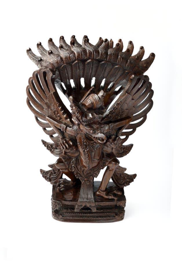 Free Garuda In Wood Royalty Free Stock Photos - 12955488