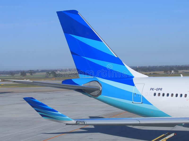 Garuda Indonesië royalty-vrije stock afbeeldingen